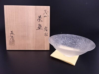 3121734: Japanese Tea Ceremony / Chawan Tea Bowl / Glass / Choju Mizusaki