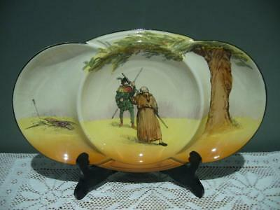 Royal Doulton 'under The Greenwood Tree' Series Ware 3 Section Tripartite Dish