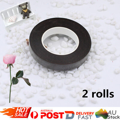2 Rolls Self Adhesive Paper Floral Stem Tape DIY Craft Artificial Flower Wrap OZ