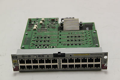 HP J8161A Procurve 24-Port 10/100-TX PoE Switch Module for 5304-XL or 5308-XL
