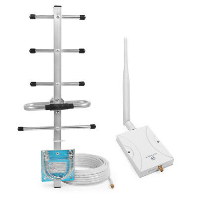 3G 850MHz Signal Booster 62dB Repeater Amplifier For Weak Signal 3G Verizon AT&T