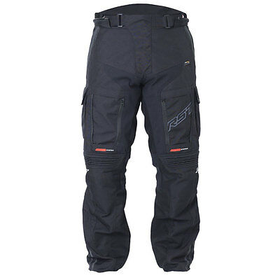 RST Pro Series Adventure III Short Leg Black Moto Textile Trouser All Sizes