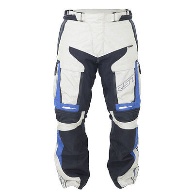 RST Pro Series Adventure III Blue / Sand Motorcycle Textile Trouser All Sizes