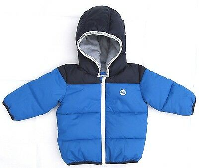 Boys Childrens Kids Baby Babies Toddlers Timberland Padded Hooded Coat 12 Months