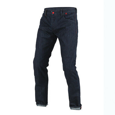 Dainese Strokeville Blue Moto Aramid Denim Slim Jeans / Trouser All Sizes