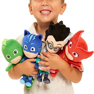 "PJ Masks Gekko Catboy Owlette Romeo Plush Doll Toys Stuffed Soft Kid Gift 8""-10"""