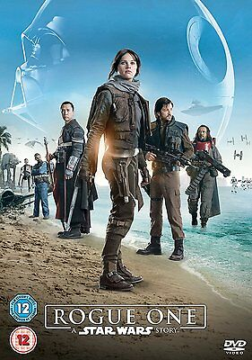 Rogue One A Star Wars Story [DVD] Region 2 New & Sealed