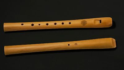 Wooden recorder in C key ( pipe,svirel, block flute, flute, whistle)
