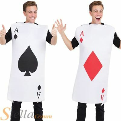 Wonderland-Shows-Unisex-Dance-DIAMOND PLAYING CARD TABBARD Costume All Ages