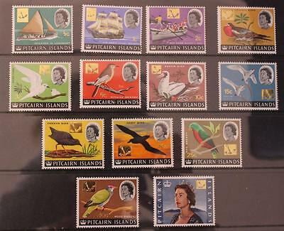 Pitcairn Islands 1967 QEII Decimal Currency Set MNH SG69-81 13v