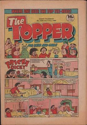 TOPPER UK comic 1982  #1539  c1.492