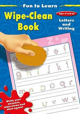 Early Learning Pre-school Learn Letters & Writing Fun to Learn wipe-clean book