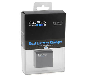 GoPro Dual Battery Charger with Battery for HERO4 - AHBBP-401 - Brand New!