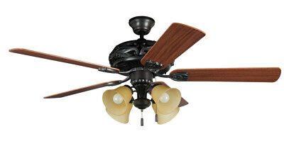 Craftmade GD52ABZ5C Grandeur Indoor Ceiling Fan Aged Bronze Brushed