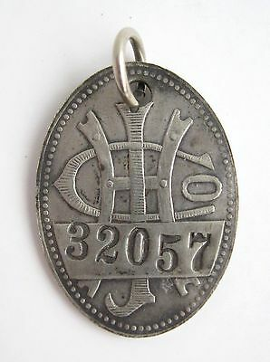 Atq Joseph Horne Dept Store Charge Credit Card Badge Coin Tag Victorian Token