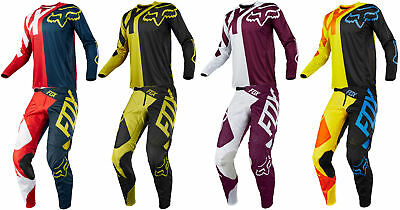 Fox Racing Mens 360 Preme Dirt Bike Jersey & Pants Kit Combo MX ATV Off-Road 18