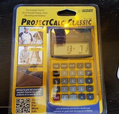 Calculated Industries Projectcalc Model 8503 New Sealed FREE SHIPPING