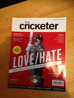 the cricketer magazine 2017 x 3