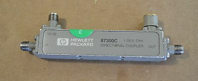 Agilent Keysight 87300C Directional Coupler 1-26.5GHz, 10db Tested GOOD