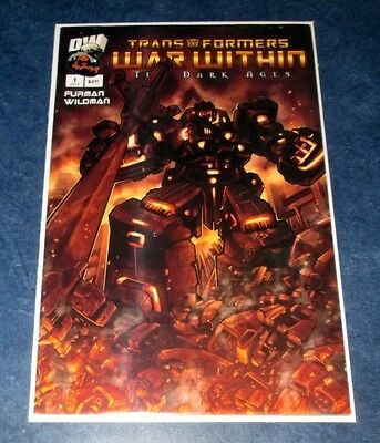TRANSFORMERS WAR WITHIN THE DARK AGES #1 C 1:25 PAT LEE variant incentive DW NM