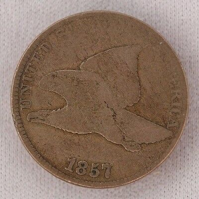 1857 Flying Eagle Cent 1C Very Good (3)