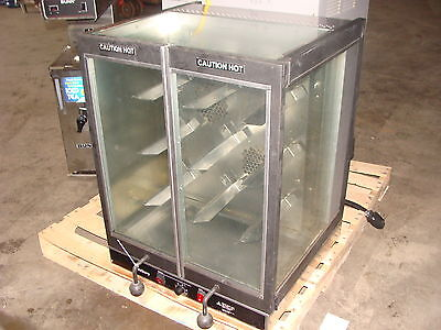 """ Old Hickory "" Bar-B-Q Bbq Cook / Chicken Rotisserie Oven + Clear Display Case"