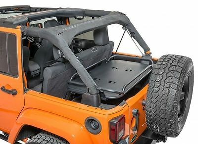 Rampage 86623 Rear Lightweight Sport Rack for Jeep Wrangler JK Unlimited 4Dr