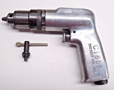 "Nice Cleco 1/4"" Pneumatic Drill Aircraft Tool"