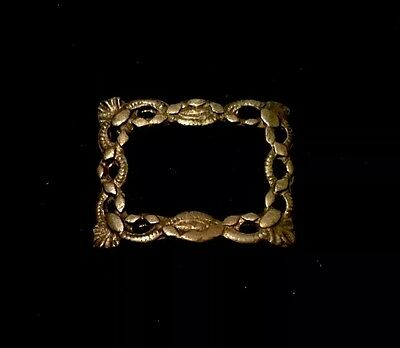 "Ancient Viking Zoomorphic Belt Buckle ""Snakes"""