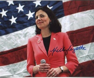 Kelly Ayotte Autographed 8x10 Photo Junior Senator from New Hampshire