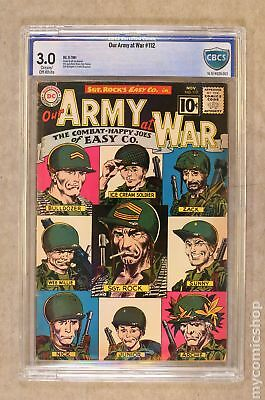 Our Army at War (1952) #112 CBCS 3.0