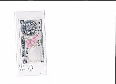 Singapore, Board of Commerce of Currency, 1 dollar, (1972)  Crisp Uncirculated