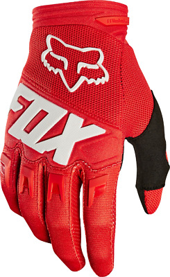 2018 Fox Mens MX Dirtpaw Race Glove Red