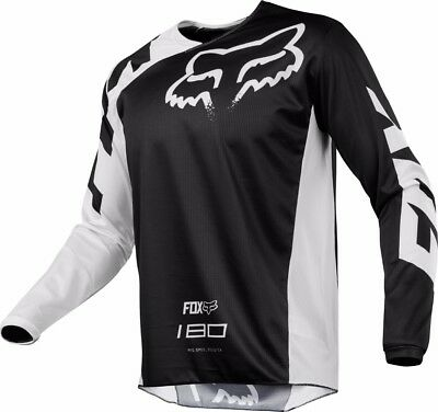 2018 Fox Mens MX 180 Race Jersey Black