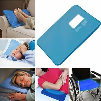 Summer Massage Therapy Insert Sleeping Aid Pad Mat Muscle Relief Cooling Gel GD