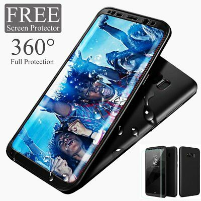 360° Full Ultra Thin Soft TPU + PC Case Cover For Samsung Galaxy S8 S7 Edge S9