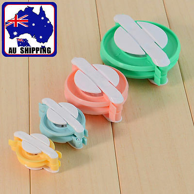 4 Size Pompom Maker Fluff Ball Weaver Needle Craft Knitting Wool Tool HNEE18546
