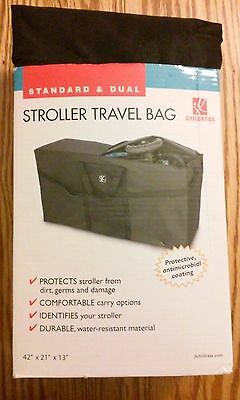 CHILDRESS STANDARD and DOUBLE DUAL STROLLER TRAVEL BAG ~ NEW ~ FREE SHIPPING