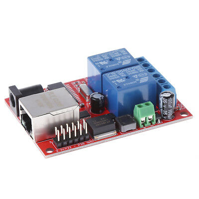 LAN Ethernet Relay 2 Way Board Delay Switch TCP/UDP Controller Module WEB Server