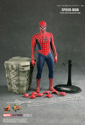 Hot Toys 1/6 Scale Collectible Figur Spiderman 3 Red Suit
