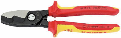 Knipex 95 18 200 VDE Insulated Cable Cutter Shears 200mm Twin Cutting Edge 32023
