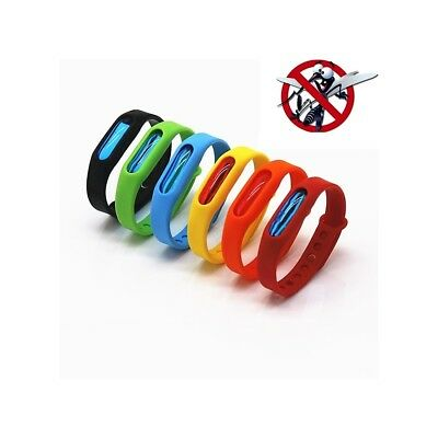 Adjustable Mosquito Repellent Bracelets Bands Natural, Waterproof, Deet Free