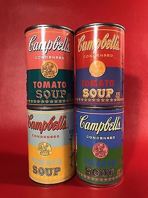 Andy Warhol Campbell Soup Cans set of 4