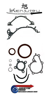 Kenjutsu Bottom End Conversion Gasket + Oil Seal Set - For Z32 300ZX VG30DETT