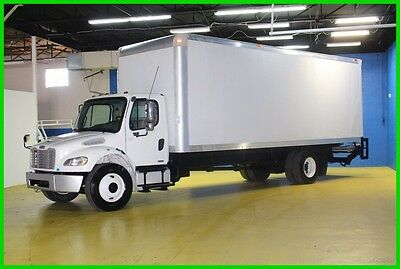 2008 Freightliner M2 WHITE Used BOX 26 FOOT