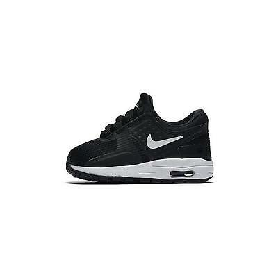 """NIKE BABY AIR MAX ZERO TRAINERS (Nike Tiny Exclusive) Size 1.5 (0-3M / 3.5"""") NEW"""
