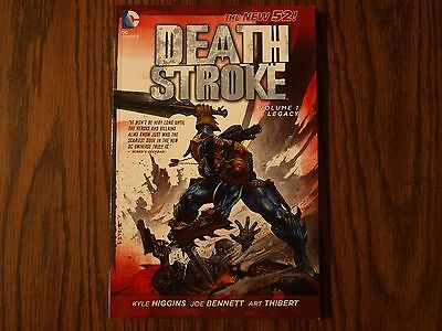 DC New 52 TPB Graphic Novel Death Stroke: Legacy Vol. 1