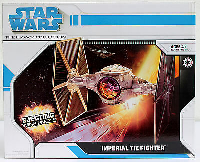 Star Wars The Legacy Collection Imperial Tie Fighter Hasbro