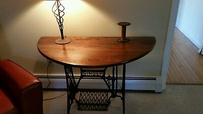 Singer Base Entryway table.