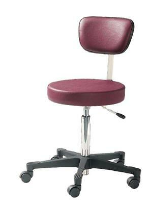 NEW: Reliance 4246-301 Pneumatic Stool w/ Back (Color: Black) Free Ship:  $315